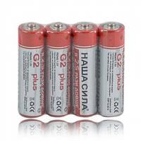 """Батарейки """"Наша сила"""" R6 (60 штук уп.) Цена за 1 шт."""