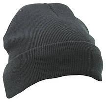 Вязаная шапка с отворотом Thinsulate  цвет чёрный MB7551