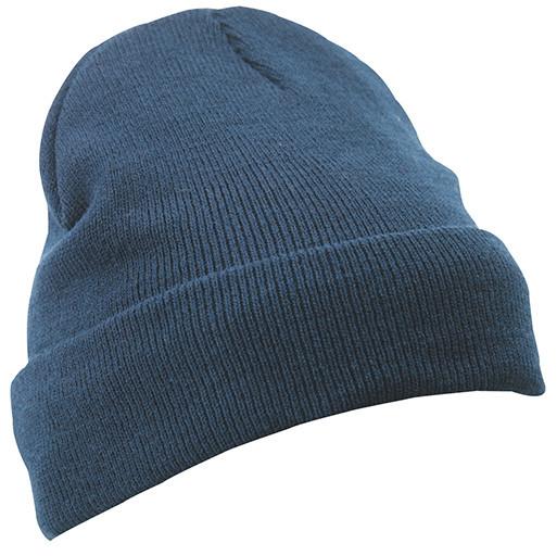 Вязаная шапка с отворотом Thinsulate  цвет тёмно-синий MB7551