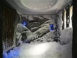 СТРОИТЕЛЬСТВО ГРОТА с ВОДОПАДОМ. Строительство Снежных Комнат. дизайн ГРОТА из НАТУРАЛЬНОГО КАМНЯ, фото 10