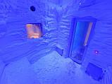 СТРОИТЕЛЬСТВО ГРОТА с ВОДОПАДОМ. Строительство Снежных Комнат. дизайн ГРОТА из НАТУРАЛЬНОГО КАМНЯ, фото 6