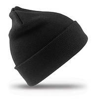 Зимняя шапка UNISEX WOLLY SKI HAT цвет чёрный RC029X