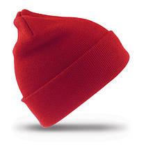 Зимняя шапка UNISEX WOLLY SKI HAT цвет красный RC029X