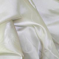 Тюль Микровуаль Семия крем, однотонна + високоякісний пошиття