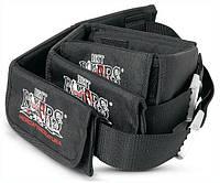 Грузовой пояс с карманами для дайвинга Best Divers; 3 кармана; стальная пряжка