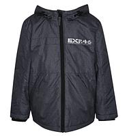 Куртка демисезонная серая с капюшоном на мальчика 4-5-6-7, 9-10-11 лет George (Англия)