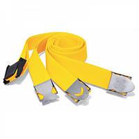 Грузовой ремень дайвинга Best Divers нейлоновый; жёлтый; стальная пряжка стандартная