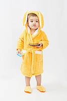 Махровый детский халат для детей от 1 до 5 лет