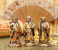 """Набор статуэток """"Три звёздных старца"""" Фу, Лу, Шоу"""