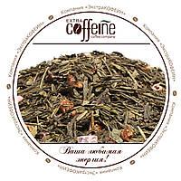 Китайский среднелистовой зелёный чай с клубникой