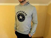 Свитшот серый Converse ( звезда серая )