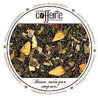 Китайский среднелистовой зелёный чай с кусочками яблока