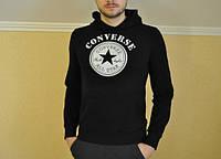 Свитшот чёрный Converse ( звезда чёрная )