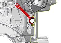 """Усилитель моторного щита """"Автопродукт""""  для  ВАЗ 2110-72  с гидроусилителем (ГУР)"""