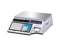 Весы электронные торговые с термопечатью CL5000J-IB до 30кг.