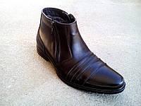 Мужские кожаные зимние ботинки  классика  40-45 р-р, фото 1