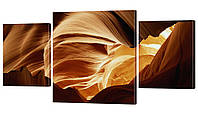 "Модульная картина ""Пески"" 191x99 см"