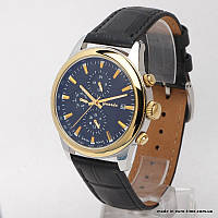 Мужские часы с кожаным ремешком, guardo S1033G2B, фото 1