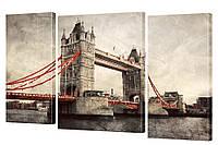 "Модульная картина ""Мост"" 164x106 см"