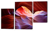 "Модульная картина ""Дюна каньона"" 159x99 см"