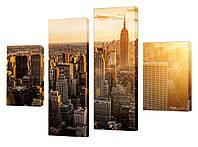"Модульная картина ""Нью-Йорк"" 145x110 см"