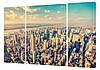 "Модульная картина ""Манхеттен"" 150x99 см"
