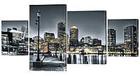 "Модульная картина ""Парк. Нью-Йорк"" 190x99 см"