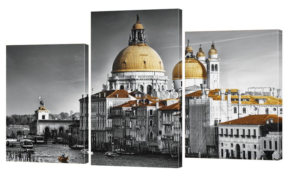 """Модульная картина """"Собор в Венеции"""" 165x99 см"""