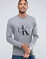 Свитшот серый CK
