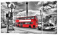 "Модульная картина ""Лондон"" 164x99 см"