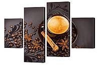 """Модульная картина """"Кофе со специями"""" 221"""