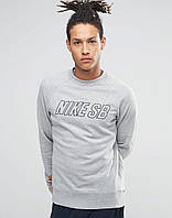 Свитшот серый Nike SB