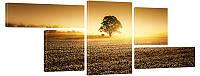"""Модульная картина """"Дерево в поле"""" 300"""