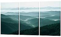 "Модульная картина ""Холмы"" 159x99 см"