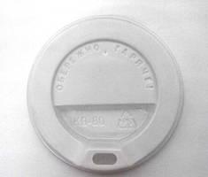 Крышка КВ80 для гофрированного стакана ripple 250 мл