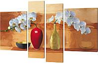 "Модульная картина ""Орхидеи"" 172x106 см"