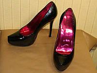 Туфли женские лаковые River Island (размер 38)
