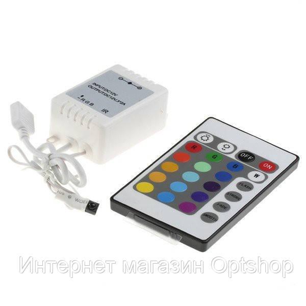 Контролер для лед лент LED CONTROLLER c пультом ДУ -  Интернет магазин Optshop в Днепре