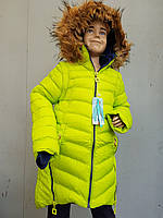 Куртка зимняя подросток на девочку SPEED.A. Змейка
