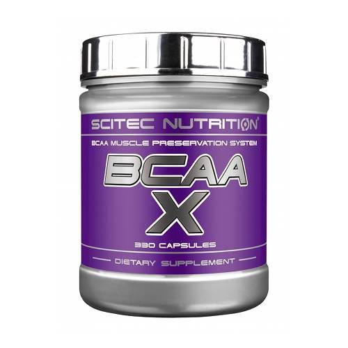 Аминокислоты SCITEC Nutrition BCAA-X 330 капсул