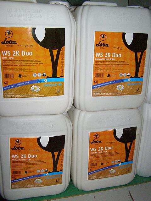 LOBA WS 2K DUO двухкомпонентный полуматовый 1л