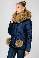Короткая зимняя женская куртка Chanevia