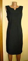 Платье футляр женское, деловое, черное F&F (Размер 52-54 (L, UK16)