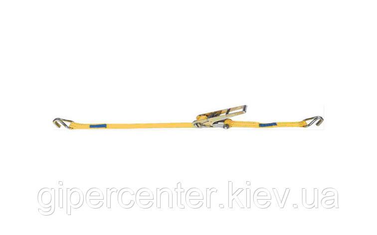 Стяжной ремень с храповиком 5т, 6м, фото 2