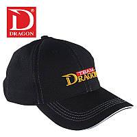 ШАПКА DRAGON бейсбол stretch черная, разм.58