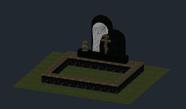памятник комбинированный 1