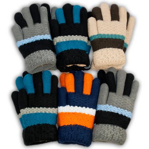 Детские перчатки утепленные, B14M