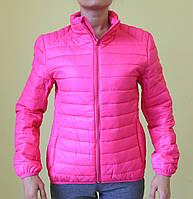 Куртка женская демисезонная Remain 7031-1 розовая код 884А