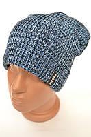 Вязанные зимние мужские шапки