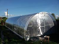 Теплица из поликарбоната 4х12х2.3 м. (поликарбонат 4 мм. в комплекте).